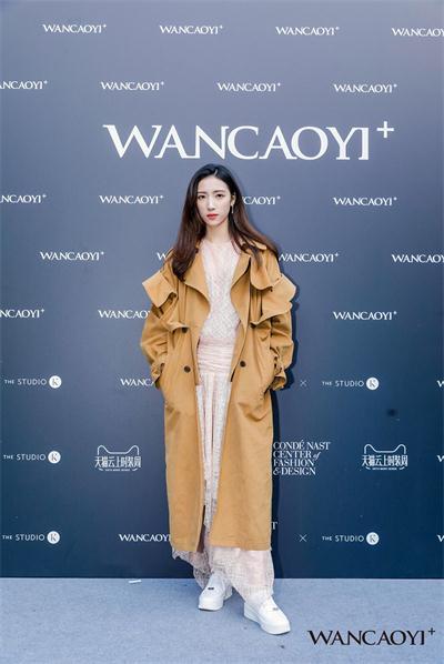 典雅气质尽显!马紫薇亮相上海时装周显知性魅力