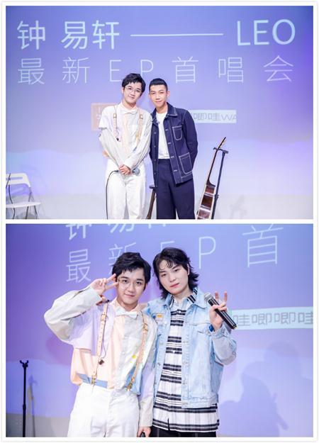 彰显原创唱作能力,钟易轩最新EP《北半球的夏半年》首唱会在晓岛举行