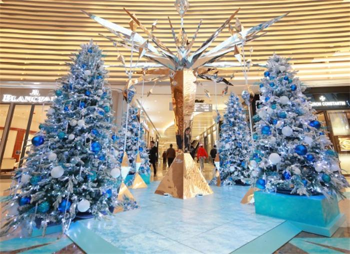 上海ifc商场 乐享《冰雪奇缘2》圣诞之旅